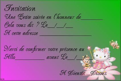 Carte invitation - Cartons pour demenagement gratuit ...